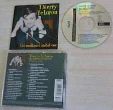 CD ALBUM SES MEILLEURES IMITATIONS THIERRY LE LURON 18 TITRES 2001