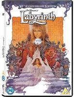 Labyrinth DVD (2016) David Bowie, Henson (DIR) cert PG ***NEW*** Amazing Value
