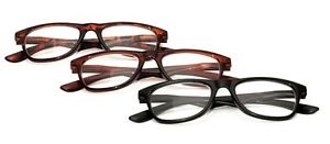 Any 2 PAIRS HOT SELL Fashion Reading Glasses Spring Hinges +1.0+1.5+2.0+2.5 9057