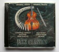 JAZZ CLASSICS MUSIC CD VARIOUS ARTISTS MILES DAVIS CHARLIE PARKER+++ NEW SEALED