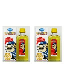 2 x COD/ FISH LIVER OIL/ LIQUID - Pure & Natural For CHILDREN  OMEGA 3