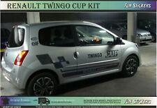 renault twingo cup - Kit autocollant ensemble complet - graphic sport stickers
