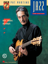 PAT MARTINO-JAZZ FOR GUITAR MUSIC BOOK/CD W/TAB & ANALYSIS-BRAND NEW ON SALE-REH