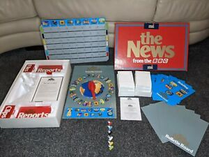 Vintage Board Game - THE NEWS FROM THE BBC - The Great Games Company- 1987