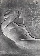 1955 Original SURREAL FEMALE NUDE German Photo Engraving HEINZ HAJEK-HALKE 16x20