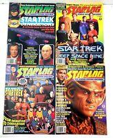 Vintage SCI-FI: Lot of x4 Movie Starlog Magazines Star Trek Deep Space Nine 90s