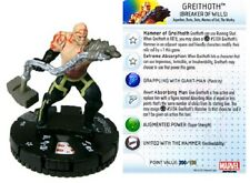 Marvel Heroclix Fear Itself Greithoth (Breaker of Wills) #024 Rookie/Experienced