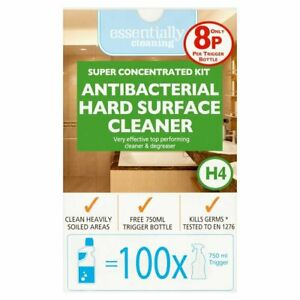 Essentially Cleaning Super Concentrated Kit Antibacterial Hard Surface Cleaner