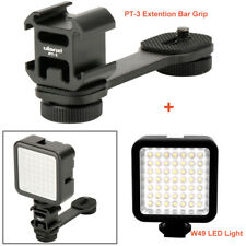 PT-3 Cold Shoe Bracket + W49 Mini LED light for Mobile 2 DJI Osmo Gimbal zhi yun