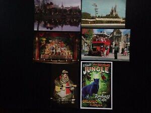 11 Postcard lot, Walt Disney World, Epcot, Disney Cruise Line, Orlando, good con