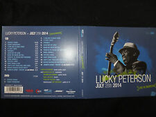 RARE CD + DVD  LUCKY PETERSON / JULY 28TH 2014 / LIVE IN MARCIAC / CD + DVD /