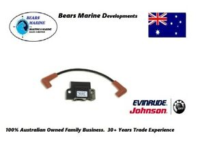 Evinrude /Johnson  Outboard Ignition Coil 1/2/3/4/6/8 cyl  Various 1985 - 2005