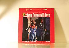 JAMES BOND - FROM RUSSIA WITH LOVE - JAPANESE UA 1975 VINYL LP ALBUM