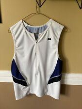 Sugoi Running Triathlon Singlet Mens Size XL Zipper Front!