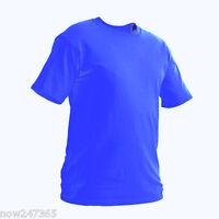 Kids Plain T Shirt Age 2 to 13 School P.E Top 100% Cotton Boys Girls Childrens
