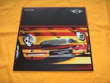 Mini 2001 Prospekt Brochure Catalogue BMW