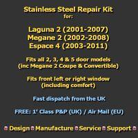 Window Regulator Mechanism Cable Wire Repair Kit. (Fits: Electric Motor, Manual)
