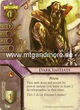 Warhammer Invasion - 2x Dark Initiate  #022