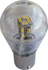 LED 12V AC/DC 60LM White Omni Bulb Waterproof BA15S Cover 1156 3497, 1073, 1141