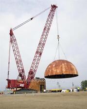 Old Photo. Savannah River Site - Crane Removing Reactor Dome
