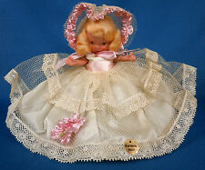 Nancy Ann Storybook Jointed Legs Molded Sock Pudgy Doll 1940 w Sticker #186 NASB