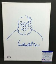 Guillermo Del Toro Signed 11x14 Canvas 'w/ Self Sketch *The Shape of Water PSA