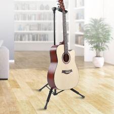 Support de guitare Support vertical pliable à une poignée antidérapant intégré