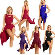 Adult Women Ballet Dress Tutu Leotard Dance Dress Stage Skirt Dancewear Costume