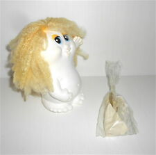 SNUGGLEBUMMS 80s ko rubber puppet doll lamp white- pupazzo gomma bianco lampada