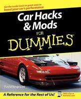Car Hacks & Mods for Dummies Book~EPROM swaps~increasing HP~better braking~NEW!