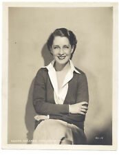 MGM 1929 THE HOLLYWOOD REVUE Original 8x10 NORMA SHEARER Portrait LOVELY