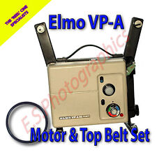 ELMO VP-A Dual Filmatic 8mm Cine Projector Drive Belts Set of 2