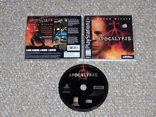 Apocalypse starring Bruce Willis PlayStation Complete