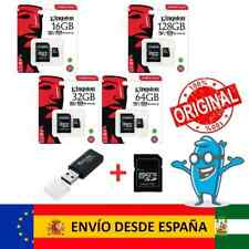 Tarjeta Micro SD | 16GB 32GB 64GB 128 256GB Class Clase 10 Kingston
