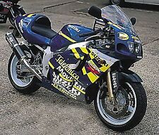 R&G RACING Crash Protector - Suzuki GSXR 600/750 1996-1999 SRAD     *BLACK*
