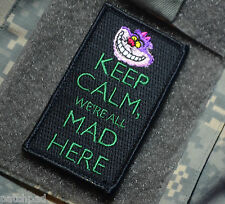 AFSOC PEDRO PJ PARARESCUE KEEP CALM SERIES SSI: Cheshire Cat We're All Mad Here