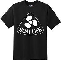 Funny Boat Life Sailing Boat T Shirt  New Graphic Tee