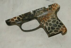 RUGER LCP .380ACP MAGAZINE RELEASE, SPRING, CUSTOM CAMO LOWER PARTS.