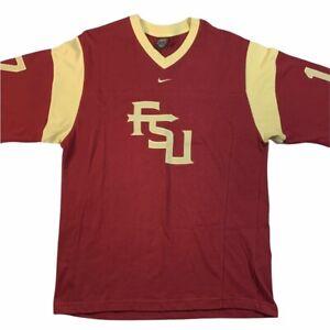 Nike y2k vintage FSU Florida State University Seminoles shooting shirt Medium