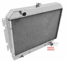 "1970-1973 Plymouth Barracuda ""Small Blk"" Aluminum 3 Row CHAMPION Radiator"