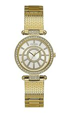 AUTHENTIC GUESS LADY MUSE GOLD TONE WATCH W1008L2 RRP:$429  Brand New