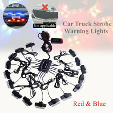 1*32 LED Grill Light Car Strobe Emergency Lamos Bars Deck Dash Suspension DC12V