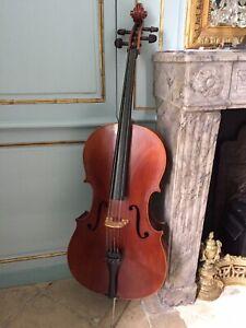 VIOLONCELLE Roderich PAESOLD GmbH 601 3/4 rare superbe concert Cello 1980