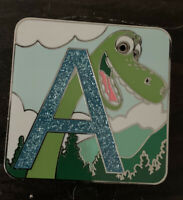 Alphabet Mystery Collection A Arlo The Good Dinosaur Chaser LE 400 Disney Pin