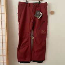 BURTON [ak] Gore-Tex Cyclic Snowboard Ski Winter Pant Sz XL Sparrow $350 NEW