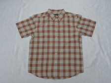 Quiksilver Waterman Collection North Avalon Persimmon Shirt Large