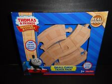 THOMAS AND FRIENDS WOODEN RAILWAY SMALL CURVE TRACK PACK  NEW