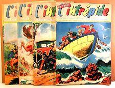 """rare  lot  hebdo BD """" l'intrépide """" 4n° 1957 (A)"""