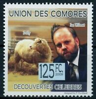 Comoros Famous Discovery Ian Wilmut Dolly Science Individual Stamp Mint NH
