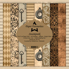 New Dixi Craft  Paper Favourites 15cm x 15cm Paper Pad Steampunk
